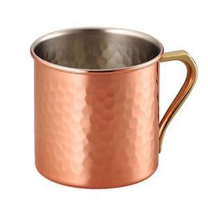 銅製マグカップ アイスコーヒーカップ 銅 アイスコーヒー用グラス
