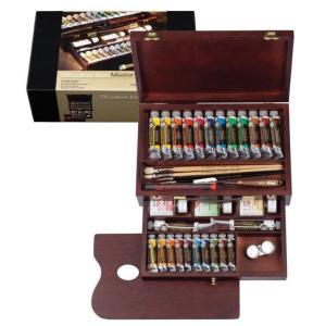 プロ仕様の油絵具 画材 油絵セット 油絵の具セット ロイヤルターレンス 24色 pocketcompany