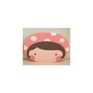 【商品名】 MP(モモプロダクト)マウスパッド/モロ   可愛い癒し系のフェイス型マウスパッド。マウ...