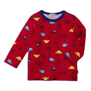 商品詳細 -Product detiles-    男の子の大好きなクルマがいっぱいの長袖Tシャツで...