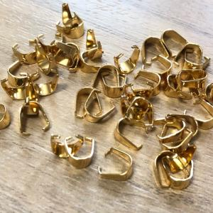 ネックレス 金具 ゴールド 30個セット|pod-material