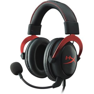 【在庫目安:お取り寄せ】キングストン  KHX-HSCP-RD HyperX Cloud II - Pro Gaming Headset (Red)|podpark