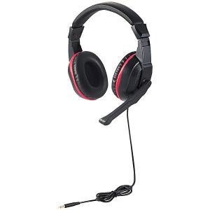 【在庫目安:お取り寄せ】 ELECOM HS-GM30MBK ゲーム向けヘッドセット/ 4極/ 両耳オーバーヘッド/ USBデジタルミキサー付/ PS4/ Switch対応/ ブラック|podpark
