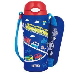 【在庫目安:お取り寄せ】 サーモス FHL-401F-BL 真空断熱ストローボトル 0.4L ブルー|podpark