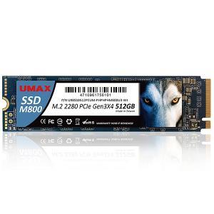 【在庫目安:僅少】 UMAX UM-SSDNV34M800-512 (M.2 2280 NVMe S...