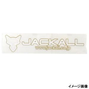 ジャッカル カッティングステッカー タイプ3−S ゴールド/ホワイト(東日本店)
