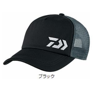 ダイワ ハーフメッシュキャップ DC-64008 フリー ブラック(東日本店)
