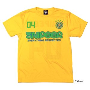 FOOTBALL DRY Tee SNP-T058-YL M Yellow【ゆうパケット】|point-i