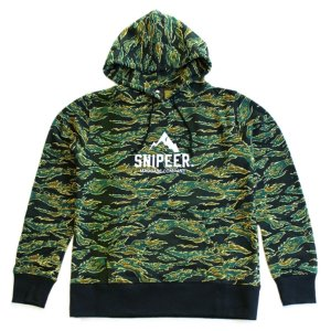 スナイパー CREST TIGER PARKA SNP-HP0016 L|point-i