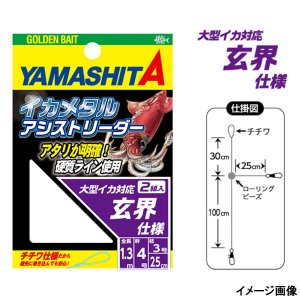 イカメタルアシストリーダー 4-3 玄界【ゆうパケット】 point-i