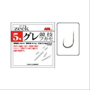 モーリス zeek(ジーク) グレ 競技フカセ 8号【ゆうパケット】