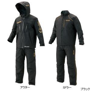 オールウェザースーツ(超耐久撥水仕様) GM-3485 3L ブラック point-i