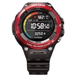 カシオ 腕時計 スマートウォッチ PRO TREK Smart WSD-F21HR-RD レッド