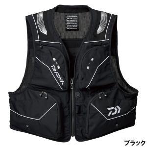 ダイワ 【鮎クリアランス】DV-3021 バリアテック ショートベスト XL ブラック|釣具のポイント