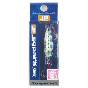 メジャークラフト ジグパラ スロー 15g #30(ゼブライ...
