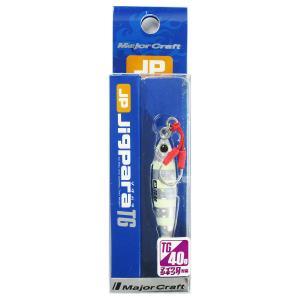 メジャークラフト ジグパラTG 40g #07 ゼブラグロー...
