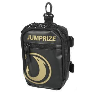 JUMPRIZEポーチ ブラック/ゴールド|point-i