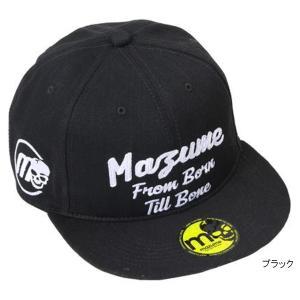 mazume FLAT CAP デニムII MZCP-409 フリー ブラック