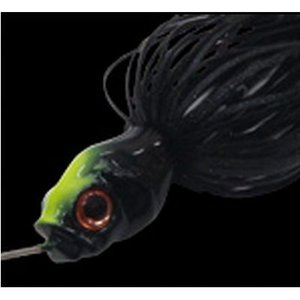 ガンクラフト キラーズベイト MINI−II 3/8oz #09B(デッドブラック/ブラック)【ゆうパケット】 point-i
