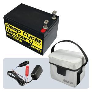 ディープサイクルバッテリー13Ah BM-D13-SET|point-i