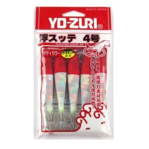 デュエル 浮スッテカンKT布巻 5本入り 4.0号 TY2 L1(赤/白)【ゆうパケット】