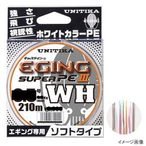 ユニチカ  ●カラー:ホワイト ●素材:スーパーPE ●号 :0.6号 ●糸巻量:単品 210m ●...