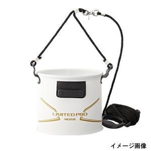 シマノ 水汲みバッカン LIMITED PRO BK−151N 21cm リミテッドホワイト|point-i