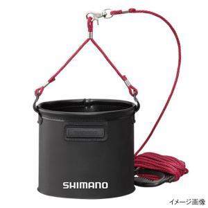 シマノ 水汲みバッカン BK-053Q 19cm ブラック point-i