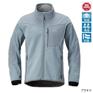 シマノ XEFO WIND STOPPER OPTIMAL Jacket JA-290Q L プラチナ|point-i