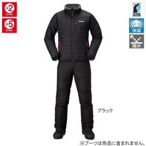 シマノ ベーシック インシュレーション スーツ MD-055Q L ブラック|point-i