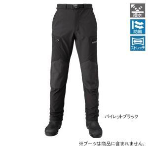 シマノ 防風ストレッチパンツ PA-045Q L パイレットブラック|point-i