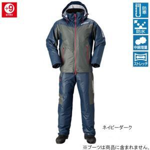 シマノ マリンコールド ウェザースーツ EX RB-035N M ネイビーダーク point-i