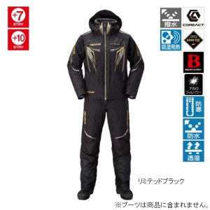 シマノ NEXUS GORE-TEX ULTIMATE WINTER SUITE LIMITED PRO RB-111Q L リミテッドブラック|point-i