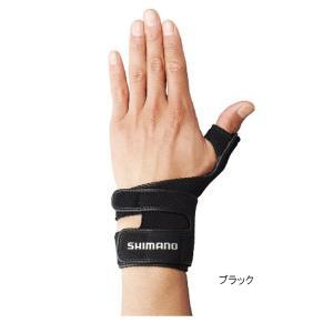 シマノ リストサポートグローブ(左手) GL-05LQ M ブラック|point-i