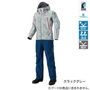 シマノ DSアドバンススーツ RA-025Q XL クラックグレー|point-i