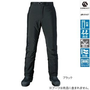 シマノ XEFO ストレッチサーマルパンツ PA-245R L ブラック [11dmnbbkn]|point-i