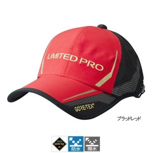シマノ GORE-TEX レインキャップ LIMITED PRO(ツバワイドタイプ) CA-110R キング ブラッドレッド
