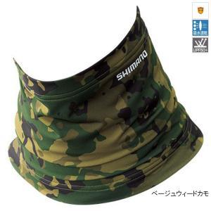 シマノ SUN PROTECTION ネッククール AC-064Q フリー ベージュウィードカモ ゆうパケット の商品画像 ナビ