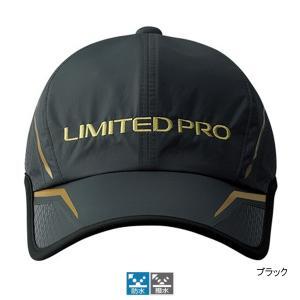 シマノ 撥水ハーフメッシュキャップLIMITED PRO CA-022S フリー ブラック