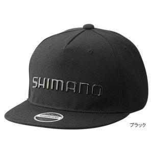 シマノ フラットブリムキャップ CA-091S フリー ブラック