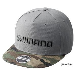 シマノ フラットブリムキャップ CA-091S フリー グレーカモ