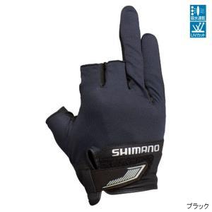 シマノ 3D・アドバンスグローブ3 GL-021S XL ブラック【ゆうパケット】