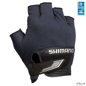 シマノ 3D・アドバンスグローブ5 GL-022S M ブラック【ゆうパケット】