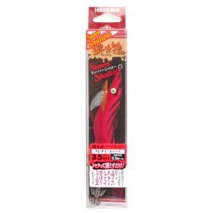 林釣漁具製作所 餌木猿 スーパーシャロー 3.5号SS クレナイ(赤テープ)【ゆうパケット】|point-i