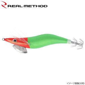 タカミヤ REALMETHOD エギノリマル 2.5号 赤×緑 夜光【ゆうパケット】|point-i