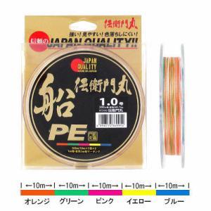 タカミヤ 伝衛門丸 船PE KFS1003 200m 1.0号【ゆうパケット】 point-i