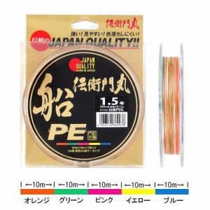 タカミヤ 伝衛門丸 船PE KFS1003 200m 1.5号【ゆうパケット】 point-i
