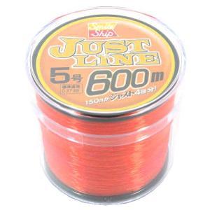 【当店限定エントリ最大46倍 16日〜18日】タカミヤ SmileShip ジャストライン 600m 5号 オレンジ|point-i