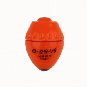 ヒロミ産業 e−遠投 V6 4号 レッド|point-i