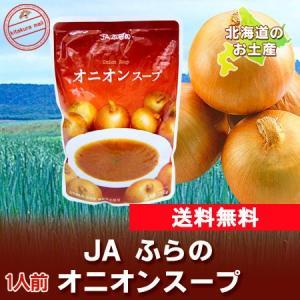 北海道 スープ 送料無料 レトルト オニオンスープ(たまねぎ) 1人前 送料無料 スープ メール便 価格 555 円 ゾロ目|pointhonpo